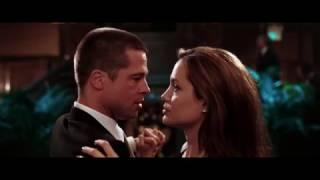 """смертельное танго))) Джоли и Питт """"Мистер и миссис Смит"""""""