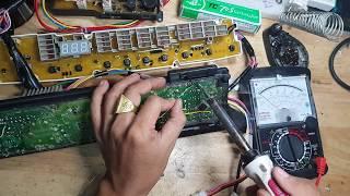 Lỗi Ed Sanyo 90VT, dạy sửa board máy lạnh, dạy sửa board máy giặt, 0907716705