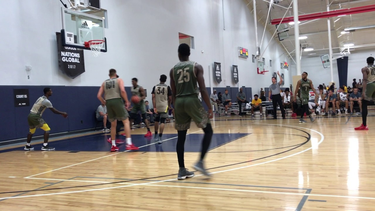 Rob Edwards Highlights @ Adidas Nations Camp - YouTube