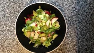 Рецепт Весенний салат из редиски