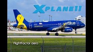 X Plane 11 | FF A320 | KSNA - KPHX