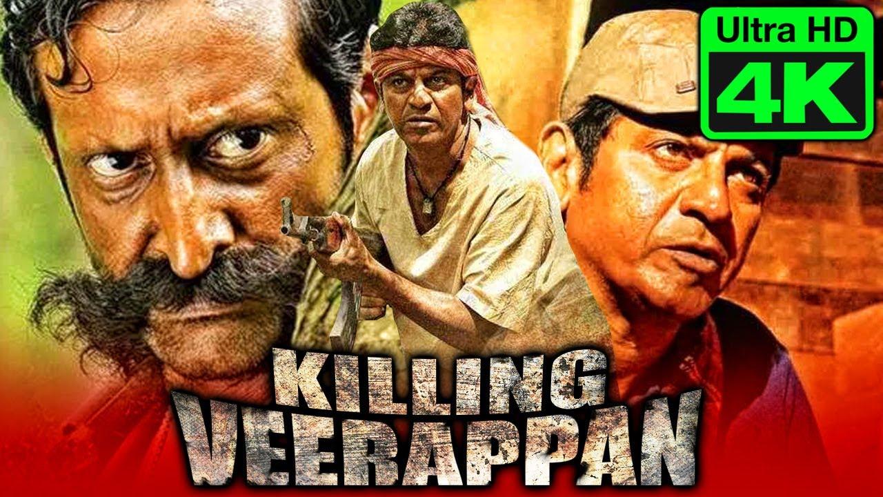 Download Killing Verrappan - किलिंग वीरप्पन (4K Ultra HD) Hindi Dubbed Movie 2021 | Shiva Rajkumar, Rahaao
