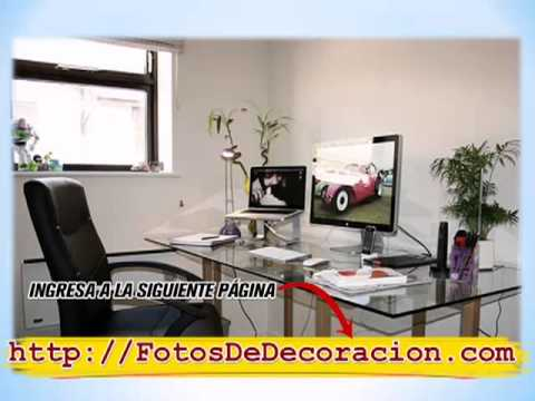 Fotos de ideas para decorar tu oficina ideas para decorar for Como amueblar una oficina pequena