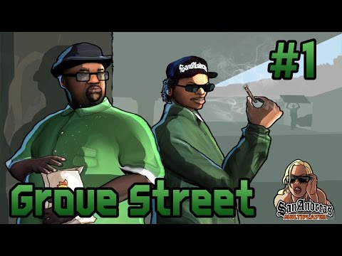 GTA TARO ✘ ขายกัญชาที่ Grove Street (สูบเอง) #1