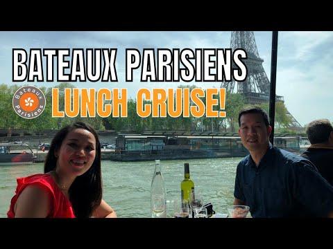 BATEAUX PARISIENS Lunch Cruise - PARIS 2018
