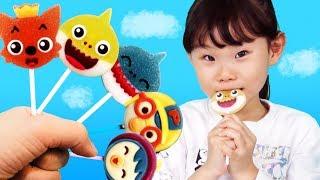 [10분]라임튜브 동요 모음 핑크퐁과 뽀로로 핑거패밀리  finger family song율동동요