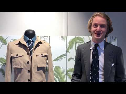 Raoul Mulder Talks About The Safari Jacket From NEW TAILOR
