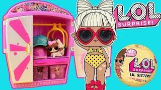 LOL Surprise 🎀 Bałagan w szafie Lil Sisters 👒 bajka po polsku
