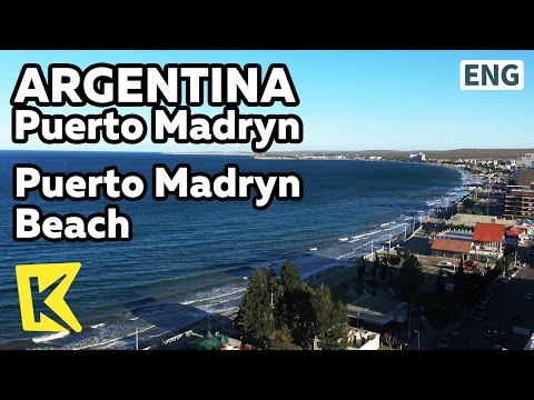【K】Argentina Travel-Puerto Madryn[아르헨티나 여행-푸에르토 마드린]항구도시 푸에르토 마드린의 해변/Port/Wind/Wales/Beach