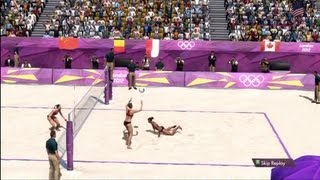 Women's Beach Volleyball | London 2012:The Olympic Games | XBOX 360 | Hard