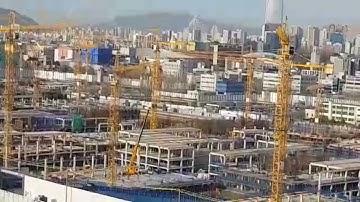 둔촌주공아파트 재건축 공사현장 21.4.1