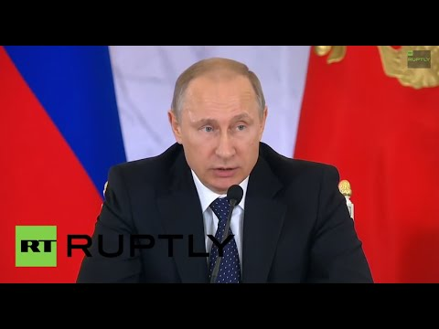 LIVE - Putin holds annual presser in Moscow