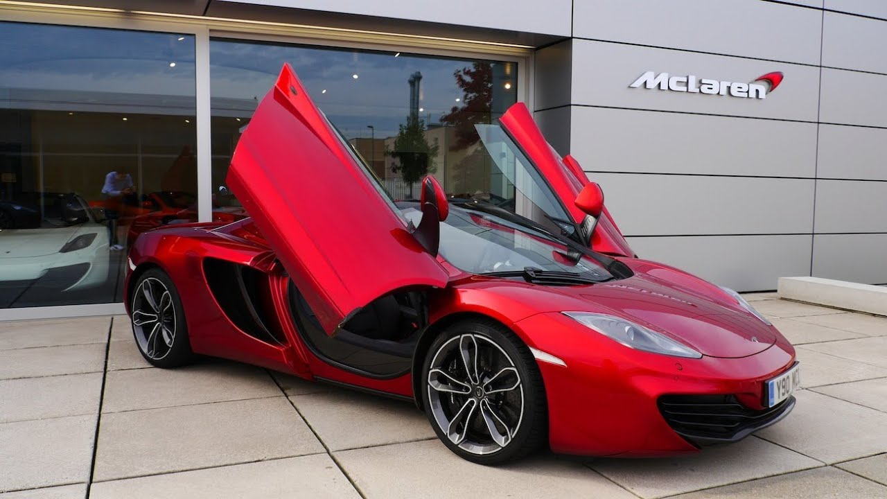 McLaren 12C Spider test review (McLaren MP4-12C) - Aufühl ...