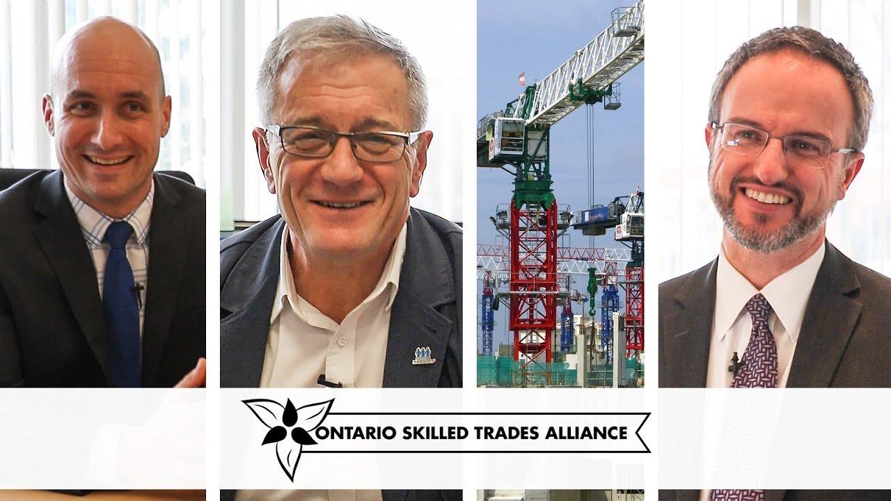 OSTA Celebrates Boosting the Skilled Trades