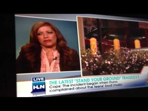 Rolonda Watts Speaks Out with HLN's Jane Velez-Mitchell about Accused Murderer Michael Dunn