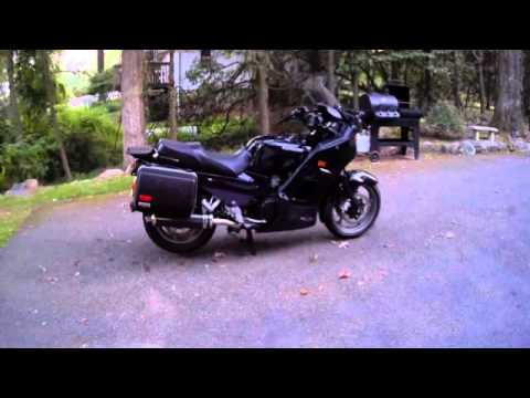 """2004 kawasaki concours zg1000 18"""" delkevic exhaust - youtube"""