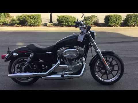 2019 Harley Davidson Xl883l Superlow Youtube