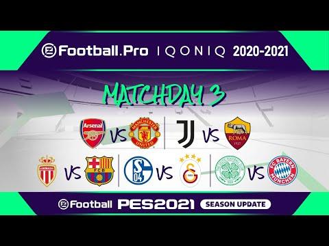 PES | eFootball.Pro IQONIQ 2020-21 | MATCHDAY 3 | Arsenal FC v Manchester United FC (Featured Match)