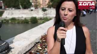 Servizio n°1 - Ponte Milvio 10 settembre 2012 (ZONA Roma Nord TV)