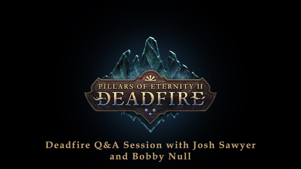 Game News - Pillars of Eternity II Fig Update #17