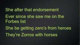 B.o.B. - Ray Bands (Lyrics)