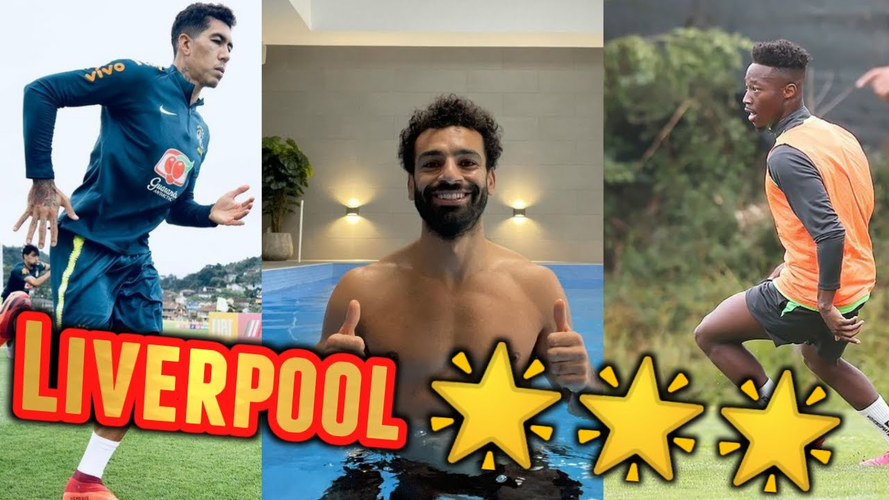 Download Liverpool Football Stars in TRAINING - Salah, Mané, Firminio and MORE!