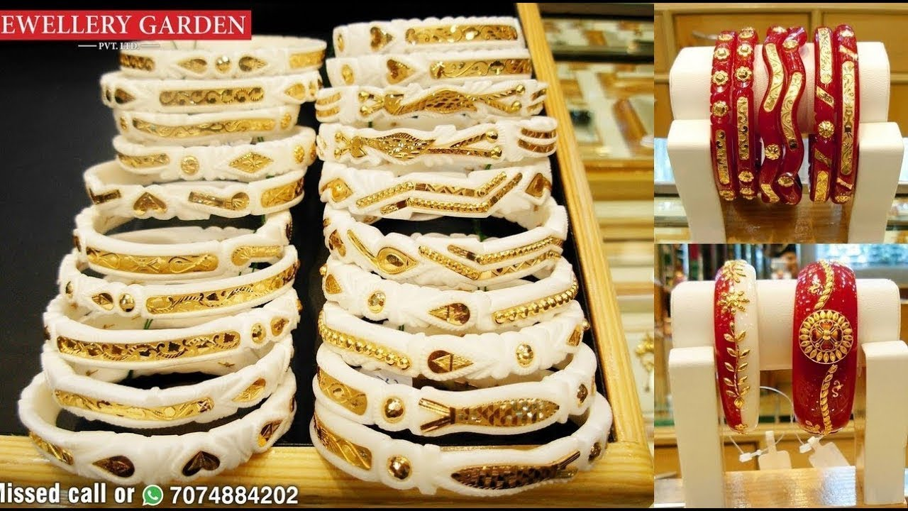 New Bengali Gold Shakha Pola Bangle Designs Latest Bengali Jewellery Designs Youtube