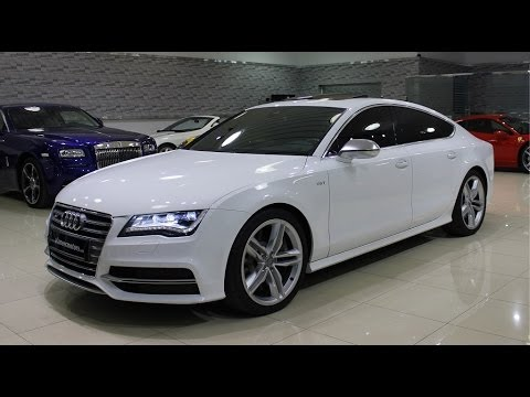 2014 audi s7 start up exhaust and in depth review youtube. Black Bedroom Furniture Sets. Home Design Ideas