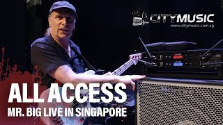 Billy Sheehan - City Music All Access - Mr. Big Live in Singapore