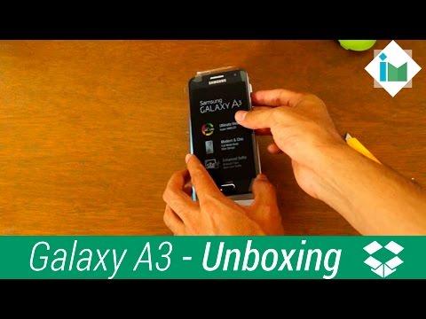 Samsung Galaxy A3 - Unboxing en español