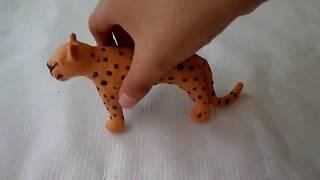 Felino Chita modelado con plastilina paso a paso.