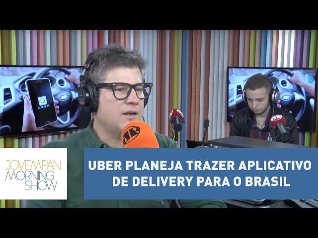 """Uber planeja trazer """"Uber Eats"""", aplicativo de delivery de comidas para o Brasil"""