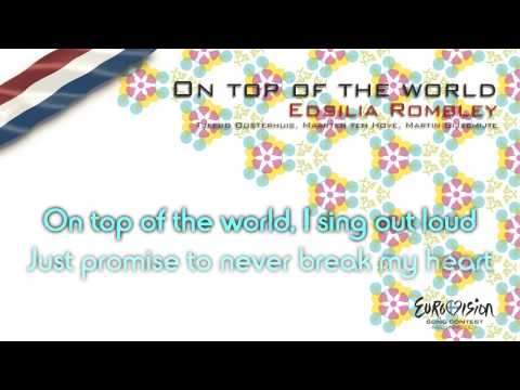 "Edsilia Rombley - ""On Top Of The World"" (The Netherlands) - [Karaoke version]"