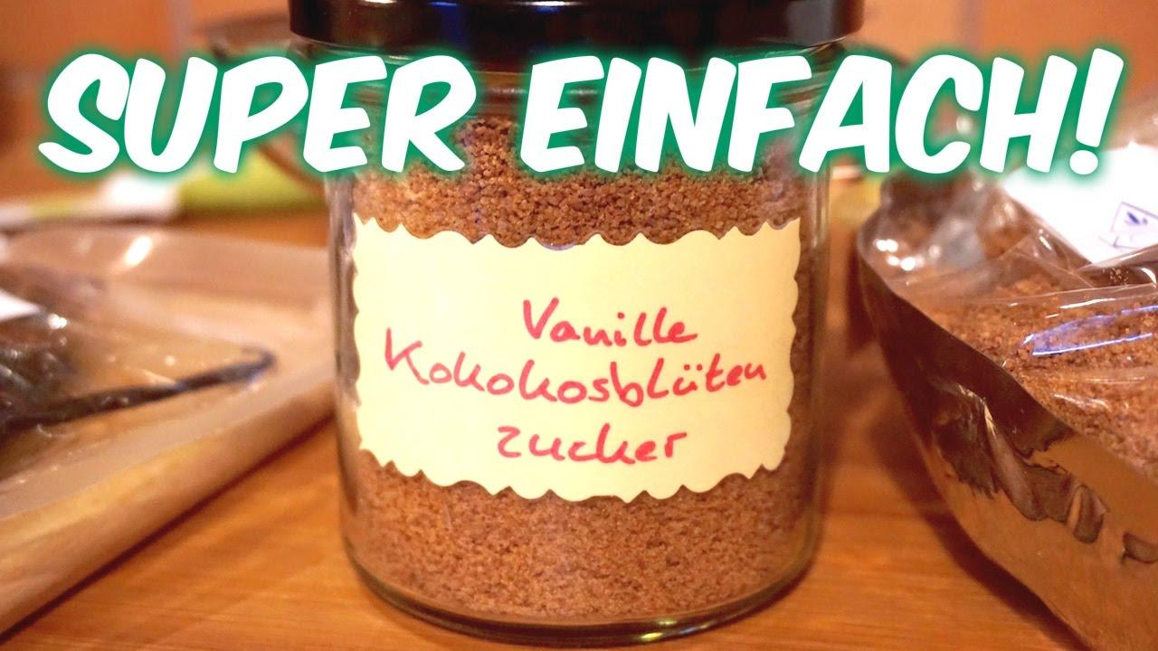 VANILLEZUCKER - Selbst gemacht mit Kokosblütenzucker & Bourbon-Vanille [VEGAN]