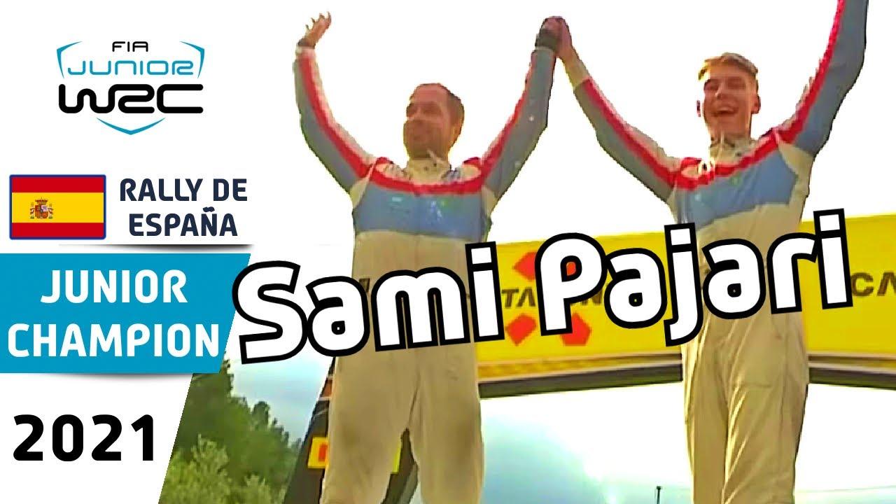 Junior WRC Review - RallyRACC - Rally de España 2021 : Sami Pajari Junior WRC Champion 2021