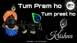 Tum Prem ho Tum preet ho // radhe Krishna serial status //  feel the Song // GP Selection