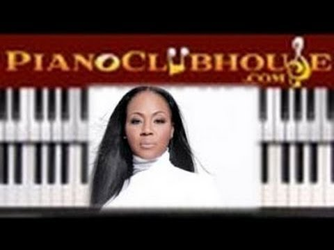"♫ How to play ""HELP"" by Erica Campbell (piano tutorial lesson)"