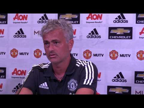 José Mourinho and Phil Jones on Manchester United's win over Real Salt Lake