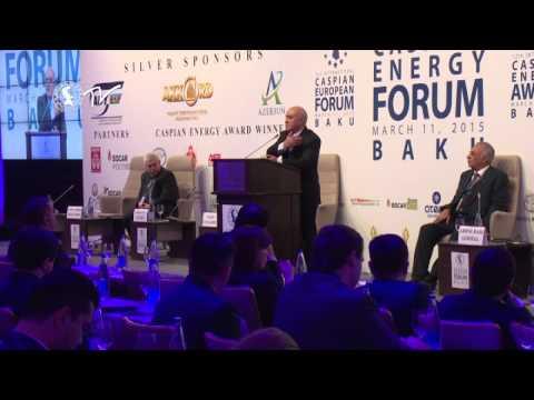 Valeh Ələsgərov - Caspian Energy Forum - Baku 2015-az