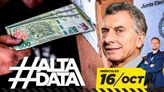 Macri paga $5.000 por un voto   #AltaData, todo lo que pasa en un toque
