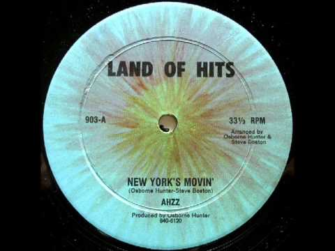 Ahzz - New York's Movin(1981)