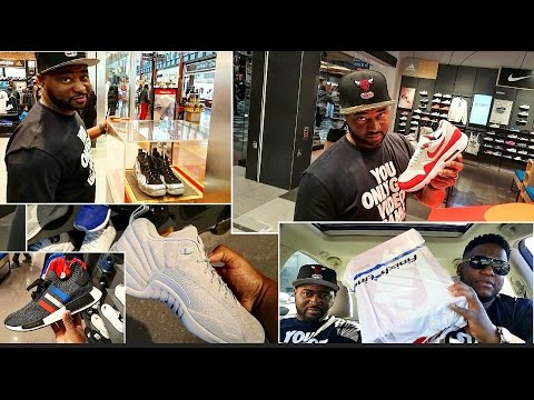 SNEAKER PICKUP VLOG WITH T-WARD!!!