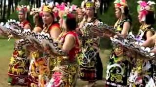 Orang Ulu Dance - Datun Julud (Kenyah)