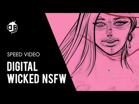 Submission club (BDSM comic) - Speed-painting from YouTube · Duration:  2 minutes 32 seconds