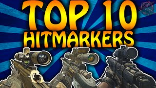 """""""TOP 10 TRICKSHOT HITMARKERS"""" in Call of Duty! (Call of Duty Top 10 Hitmarkers)"""