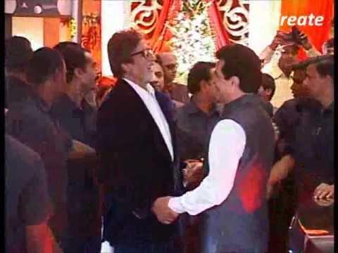 Bachchan family at Bappa Lahiri's marriage party.flv