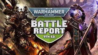 Night Lords vs Genestealer Cults Warhammer 40k 9th Edition Battle Report Ep 49