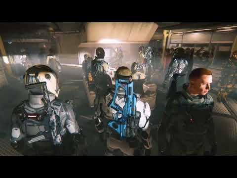 StarCitizen Stream Highlights - Reclaimer Mess Hall Party & Daymar Open Warfare
