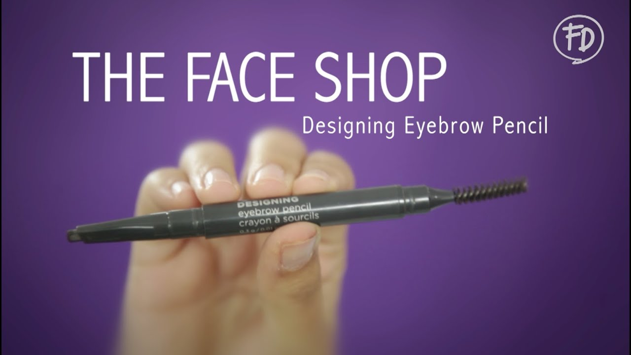60 Seconds Report The Face Shop Designing Eyebrow Pencil Youtube