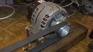 Сварочный аппарат из автомобильного генератора